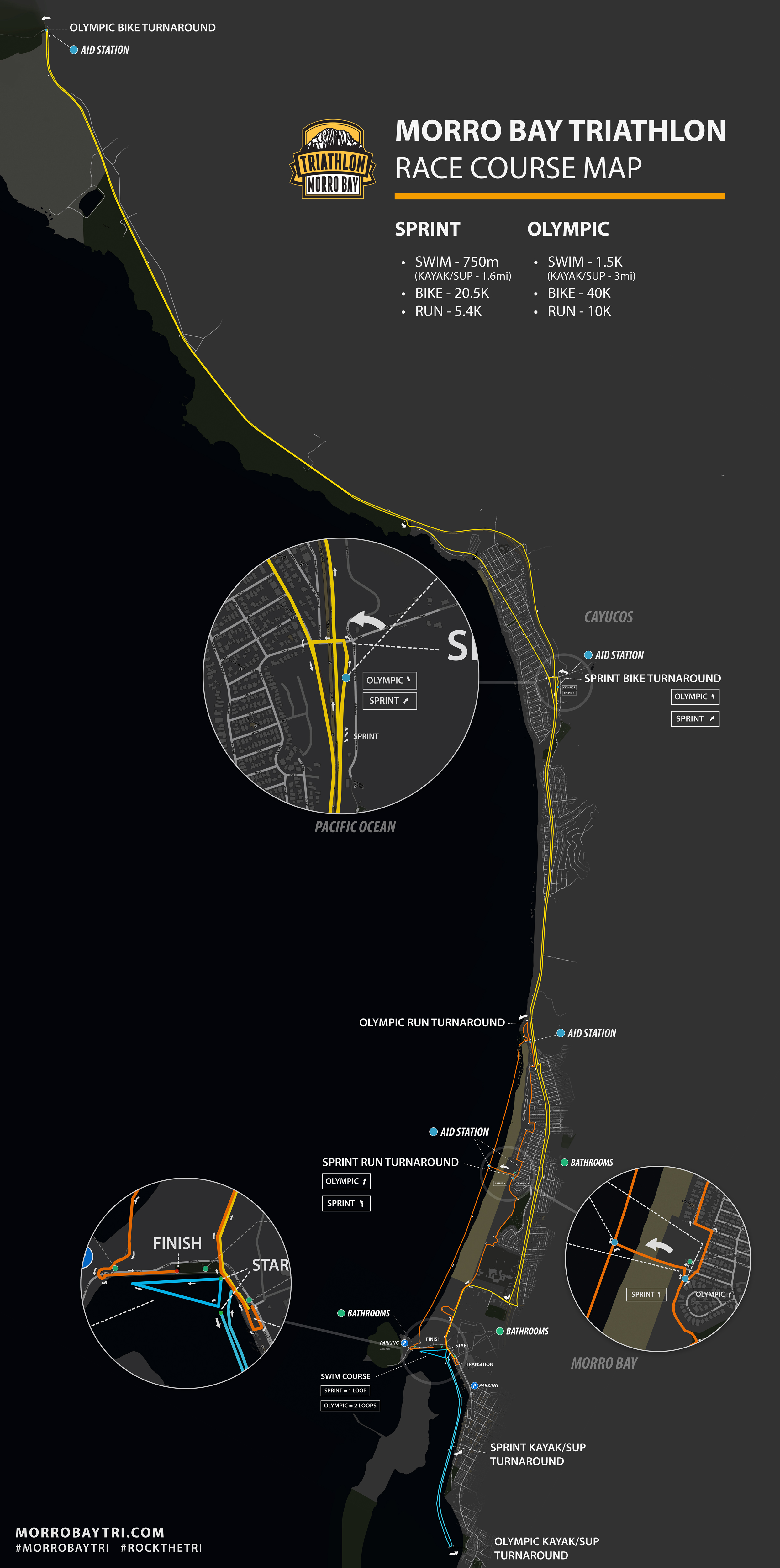 Morro Bay Tri - Overview Map